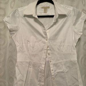 Brand new white cotton Banana Republic shirt